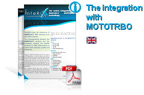 The integration of the interox system with Motorola's Mototrbo technology