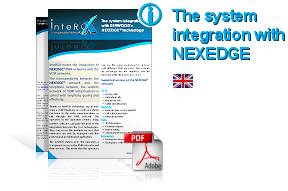 the integration of Interox system with Kenwood's Nexedge technology